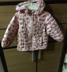 Куртка на весну осень для девочки 1,5-2 года