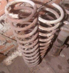 Пружины амортизаторы задние ваз 2109