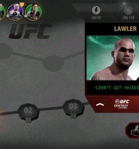Игра UFC mobile