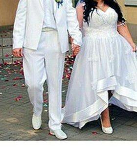Свадебное платье(корсет)