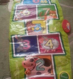 Детский коврик музыкальный