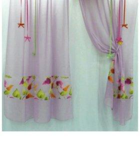Пошив штор,ремонт одежды,скатертей,салфеток.