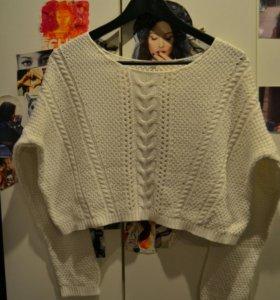 Кроп свитер ( укороченный )