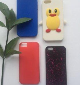 Чехолы для iPhone 5/5s по 50р