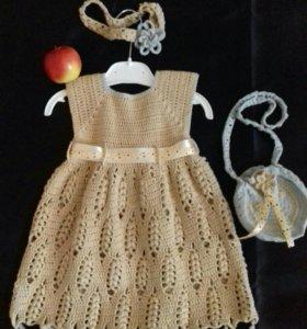Платье (для девочки 12мес)