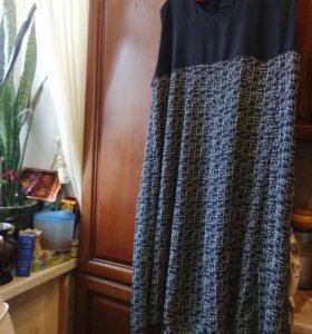 Новое платье   шелк     50-54