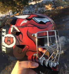 Шлем вратарский хоккейный