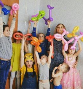 Аниматоры на детские праздники