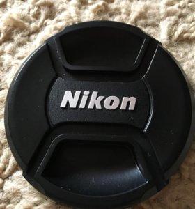 Крышка для объектива Nikon D3200