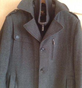 Пальто мужское р.52, состояние отличное
