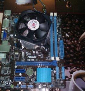 Материнка и процессор