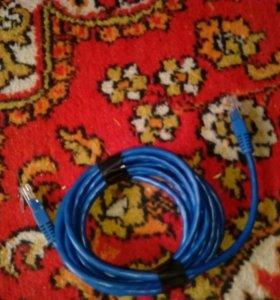 Лан шнур и провода к пк