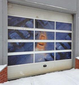 Секционные ворота (гаражные,промышленные)