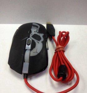 Проводная мышь Qumo Dragon War Axe M07.