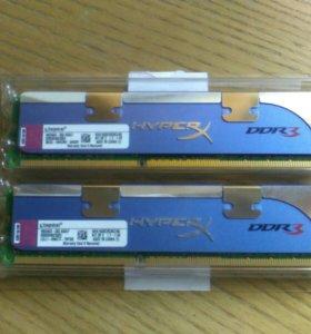 Оперативная память Kingston hyperX DDR3
