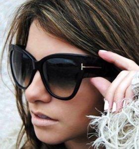 Новые коричневые очки
