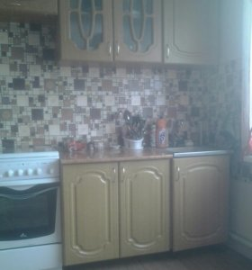 Кухонный гарнитур и плита evolution