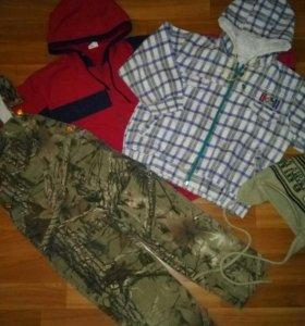 Пакет одежды,р.104-110-116
