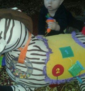 Лошадка зебра