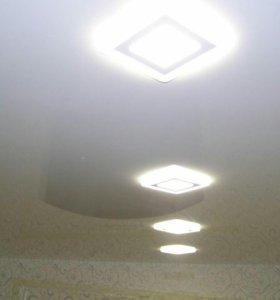 Натяжные потолки в частный дом