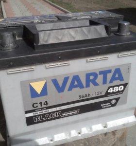 АКБ VARTA 56Ah*12v 480A(en)