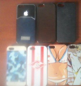 Чехлы айфон 5