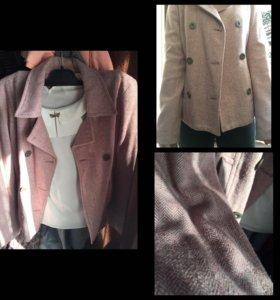 Женский винтажный розовый пиджак