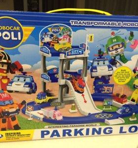 Продаю новую интересную игрушку - парковка Поли Ро