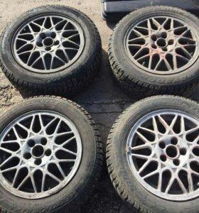 Колеса R15 5x100 bbs