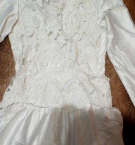 Мусульманское свадебное платье!