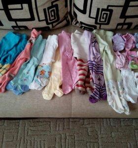 Пакет колготок и носочков