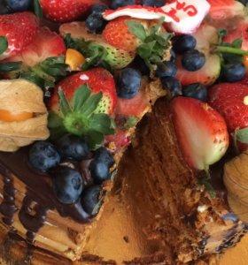 Тортик медовик