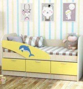 Кровать детская, Новая👍
