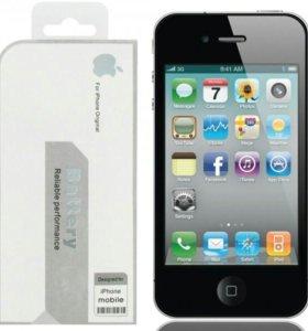 Аккумулятор iPhone 4s. Новый, оригинал