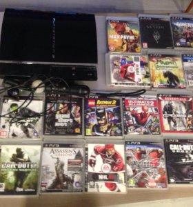 PS3 + игры для PS3