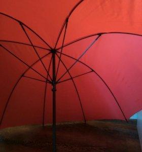 Новый семейный зонт зонтик трость