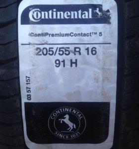 Новые Continental ContiPremiumContact 205 55 16
