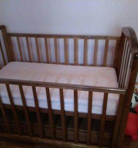 Кроватка детская+