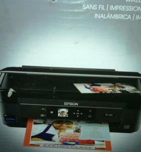 Принтер 3 в 1 эпсон цветной