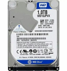 Жесткий диск 1ТБ для ноутбука