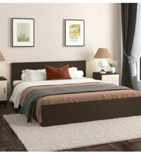 Кровать 140*200 см. с матрасом