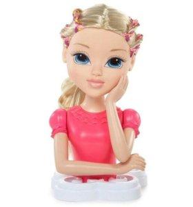 Голова куклы для причёсок))