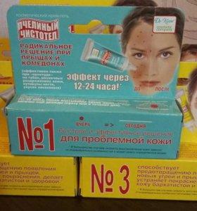 Новые крема против угревой сыпи