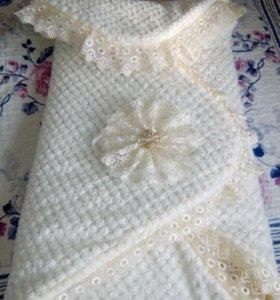 Одеяло для выписки новорожденных
