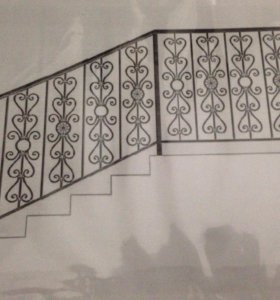 Кованные перила для балконов и лестниц