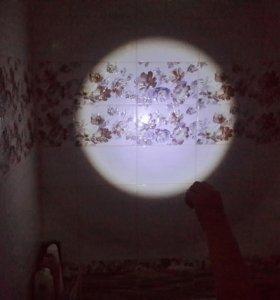 Фонарь мини прожектор