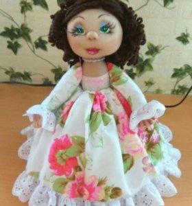 Кукла на заварочный чайник