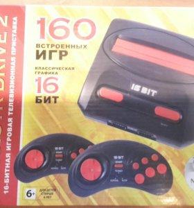 Sega Magistr Drive 2 + 160 игр в комплекте