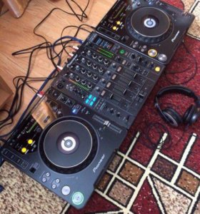Pioneer DJM 800 CDJ 1000 mk3