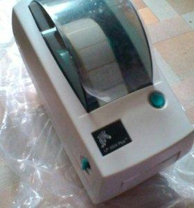 Принтер для печати этикеток штрих-кода Zebra